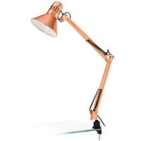 Lampa de birou FIRMO 32091 cu menghina, cupru