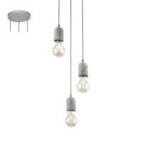 Lustra SILVARES 95523 HL/3 vizual beton