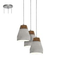 Lustra TAREGA 95526 HL/3 maro/beton