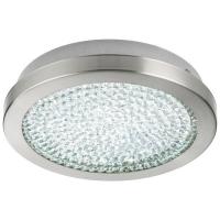 Plafoniera AREZZO 2 32046 LED-DL D280 nichel/clar/cristal