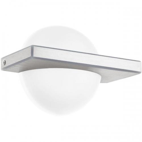 Aplica BOLDO 95771 LED-WL/1 aluminiu slefuit/alb
