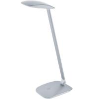 Lampa de birou CAJERO 95694 LED-TL TOUCH+USB argintiu