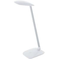 Lampa de birou CAJERO 95695 LED-TL TOUCH+USB alb