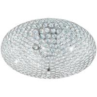 Plafoniera CLEMENTE 95285 DL/2 D450 crom/cristal