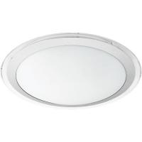 Plafoniera COMPETA 1 95678 LED-DL D435 alb/argintiu/transparent