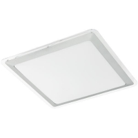 Plafoniera COMPETA 1 95679 LED-DL 340X340 alb/argintiu/transparent