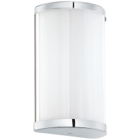 Aplica miniaturala CUPELLA 95773 LED 10x18cm, crom/alb