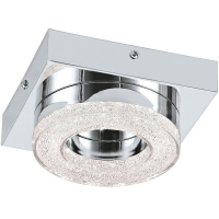 Plafoniera FRADELO 95662 LED-WL/DL/1 crom/cristal