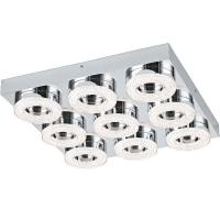 Plafoniera FRADELO 95665 LED-WL/DL/9 crom/cristal