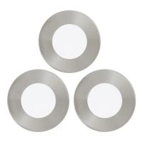 Spot incastrabil FUEVA 1 94777 SET 3X LED D85 nichel