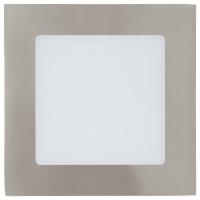 Spot incastrabil FUEVA 1 95276 LED 120X120 nichel 4000K