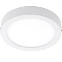 Plafoniera LED baie IP44 FUEVA 96253, 22W, 2200lm, 30cm, metal alb, 3000K