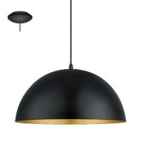 Pendul GAETANO 1 94935 HL/1 D380 negru/auriu