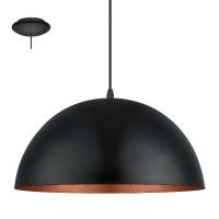 Pendul GAETANO 1 94937 HL/1 D380 negru/cupru