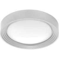 Plafoniera LED bucatarie IP44 ONTANEDA 95692, argintie, 11W, 950lm, 3000K, 33cm