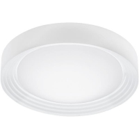 Plafoniera LED IP44 baie ONTANEDA 95693, alb, 11W-LED, 32.5cm