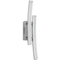 Aplica PERTINI 96097 LED-WL crom/transparent