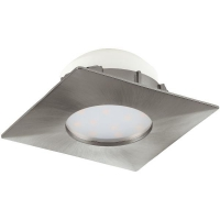 Spot ultraplat PINEDA 95799 LED-incastrabil .78X78 nichel mat