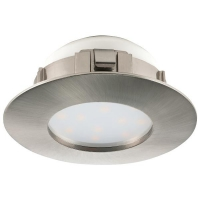 Spot ultraplat PINEDA 95813 LED-incastrabil D78 nichel mat  dimmabil