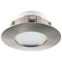 Spot ultraplat PINEDA 95819 LED-incastrabil D78 nichel mat IP20/44