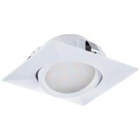 Spot ultraplat PINEDA 95841 LED-incastrabil 84X84 alb