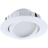 Spot ultraplat PINEDA 95854 LED-incastrabil D84 alb dimmabil