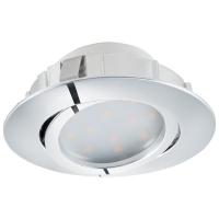 Spot ultraplat PINEDA 95855 LED-incastrabil D84 crom dimmabil