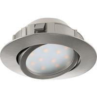 Spot ultraplat PINEDA 95856 LED-incastrabil D84 nichel mat dimmabil