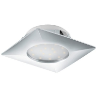 Spot ultraplat PINEDA 95862 LED-incastrabil 102X102 crom