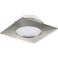 Spot ultraplat PINEDA 95863 LED-incastrabil 102X102 nichel mat