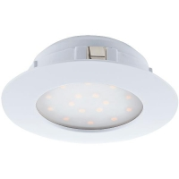 Spot ultraplat PINEDA 95867 LED-incastrabil D102 alb