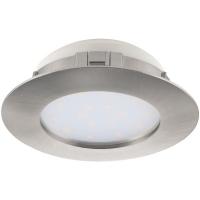 Spot ultraplat PINEDA 95869 LED-incastrabil D102 nichel mat