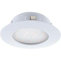 Spot ultraplat PINEDA 95874 LED-incastrabil D102 alb dimmabil