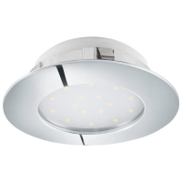 Spot ultraplat PINEDA 95875 LED-incastrabil D102 crom dimmabil