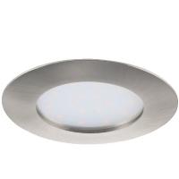 Spot ultraplat PINEDA 95889 LED-incastrabil D102 nichel mat IP20/44