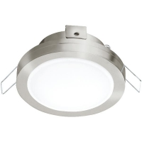 Spot ultraplat PINEDA 1 95918 LED-incastrabil D82 nichel mat IP44