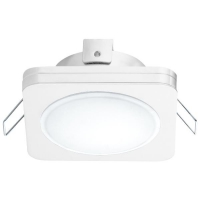 Spot ultraplat PINEDA 1 95919 LED-incastrabil 82X82 alb IP44