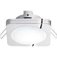 Spot ultraplat PINEDA 1 95963 LED-incastrabil 82X82 crom IP44