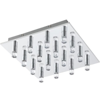 Plafoniera TEOCELO 95363 LED-DL/16 crom/transparent
