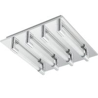 Plafoniera VELARDE 95397 LED-DL/4 320X320 crom/transparent
