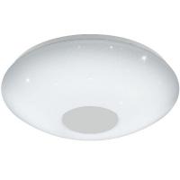 Plafoniera VOLTAGO 2 95971 LED-DL D300 alb reglabil cu efect cristal + telecomanda