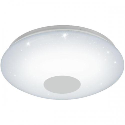 Plafoniera VOLTAGO 2 95972 LED-DL D375 alb reglabil cu efect cristal + telecomanda