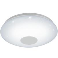 Plafoniera VOLTAGO 2 95973 LED-DL D600 alb reglabil cu efect cristal + telecomanda