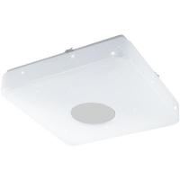 Plafoniera VOLTAGO 2 95974 LED-DL 280X280 alb reglabil cu efect cristal + telecomanda