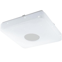 Plafoniera VOLTAGO 2 95975 LED-DL 355X355 alb reglabil cu efect cristal + telecomanda