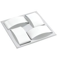 Plafoniera WASAO 1 94884 LED-WL/DL/4 crom/alb