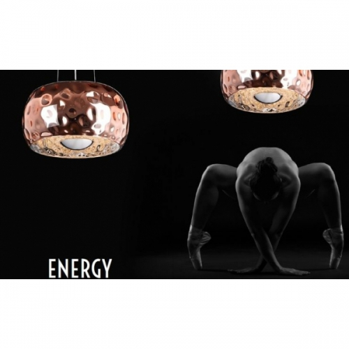 Lustra Energy 5x60W G9, cupru, D-40cm, P0224-05MCOP
