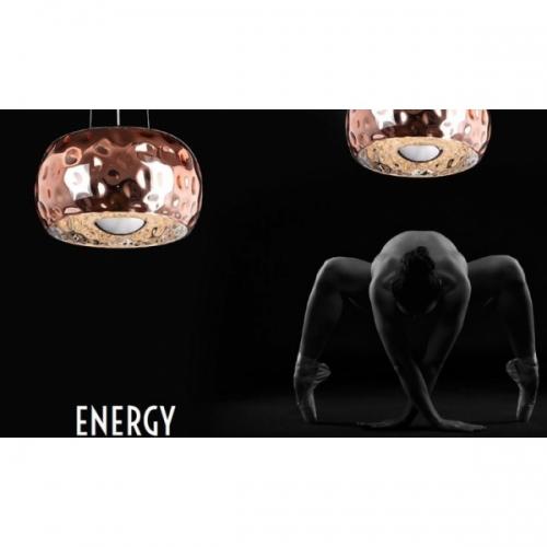 Lustra Energy 6x60W G9, cupru, D-50cm, P0224-06LCOP