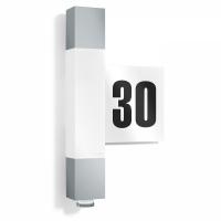 L630 LED aplica numar casa Steinel, argintie, 8W, 020385