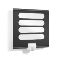 L224 LED aplica Steinel, antracit, 8W, 180°, 10m, 033224